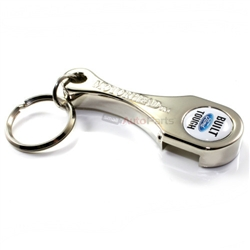 ford built tough logo connecting rod bottle opener key chain. Black Bedroom Furniture Sets. Home Design Ideas