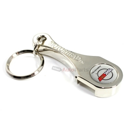 chevy corvette c4 logo connecting rod bottle opener key chain. Black Bedroom Furniture Sets. Home Design Ideas